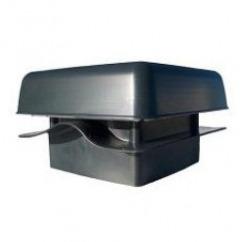 Ventilator met dakpan-effect