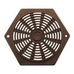 Hexagon ventilatierooster