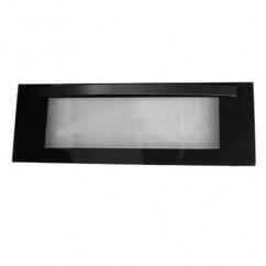Grill deur - Zwart