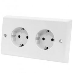 Dubbel stopcontact