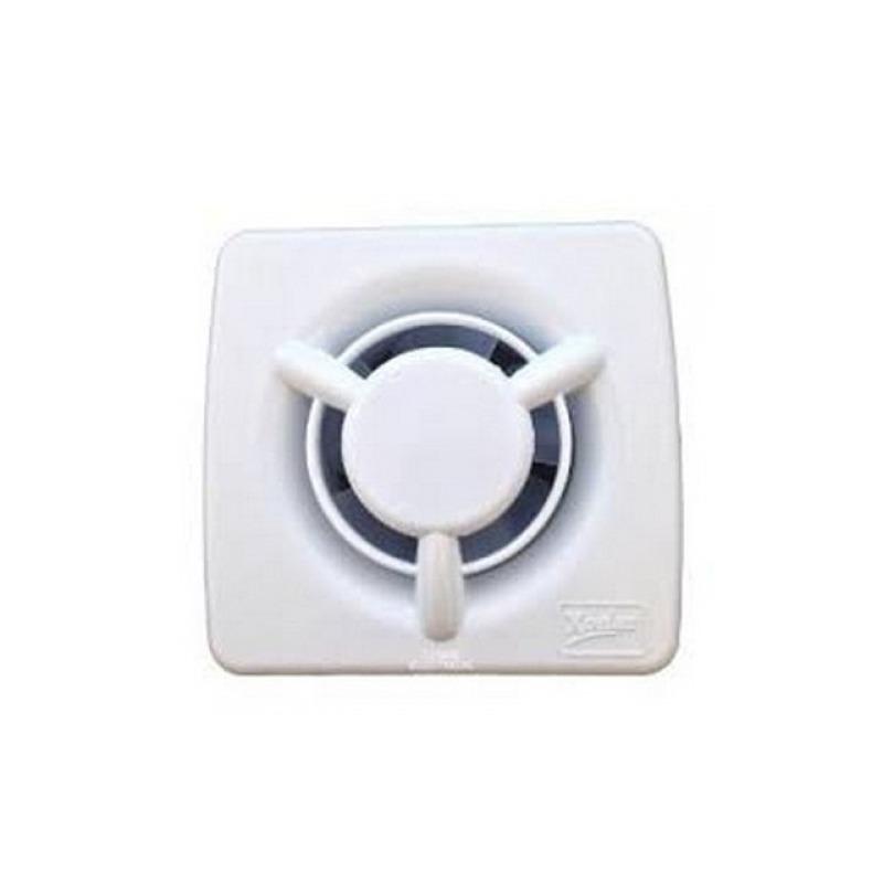 Badkamer ventilator - Witte badkamer ventilator.
