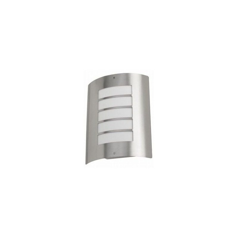 Moderne zilveren buitenlamp